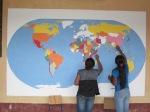 World Map takes shape!